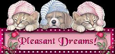 Pleasant Dreams night dreams animated sleep gif good night good evening good night greeting good night quote blinky