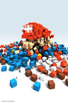 Mario Dirty Great Pixels UK