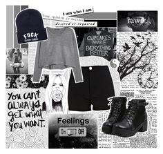"""""""Sin título #171"""" by alejandra-28lh ❤ liked on Polyvore featuring ...Lost, River Island and MANGO"""