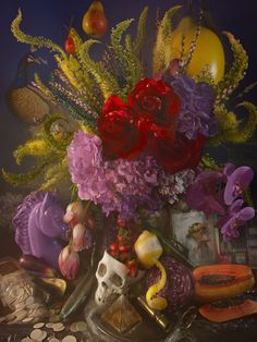David LaChapelle's Lush, Disgusting Still Life