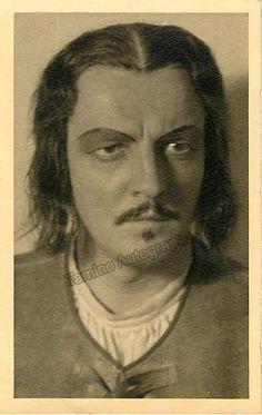 SCHWENKREIS Willi - Signed Photo Postcard
