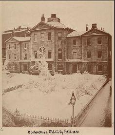 Old City Hall, Boston, Mass, circa 1858