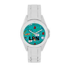 Licensed Practical Nurse Watch III http://www.zazzle.com/licensed_practical_nurse_watch_iii-256920163776738398?rf=238282136580680600*