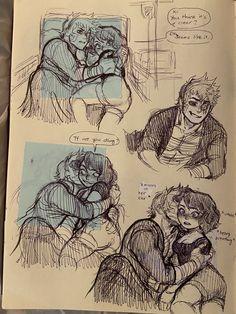 Twitter My Hero Academia Shouto, Hero Academia Characters, Anime Couples Manga, Cute Anime Couples, Bakugou And Uraraka, Character Art, Character Design, Anime Undertale, Color Pencil Art