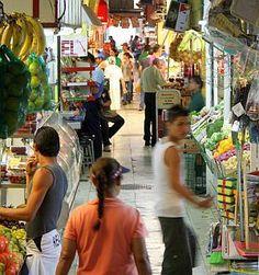 Shopping at El Mercado de Abastos in Guadalajara, Mexico
