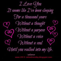 Special I Love You Quotes | love you Quotes 2013 For valentines day wish | I Love You-Quotes And ...