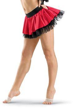 Satin Dance Skirt