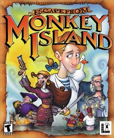 Ethan likes to play Escape from Monkey Island. (Ch. 1)