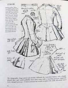 American Duchess: V259: Starting on the Snowshill 1730-50 Riding Habit