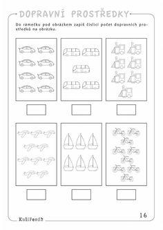 Výsledok vyhľadávania obrázkov pre dopyt dopravní prostředky mš Transportation Preschool Activities, Transportation Worksheet, Transportation Theme, Preschool Math, Preschool Worksheets, Kindergarten Activities, Activities For Kids, Cute Easy Drawings, English Lessons