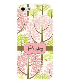 Circle Tree Sensation Personalized Phone Case by Secretly Spoiled #zulily #zulilyfinds