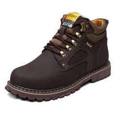 Winter Leather Retro Shoes