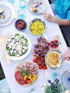 A Mediterranean Inspired Mezze Party for Hidden Valley - BirdsParty.com