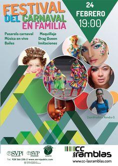 Seguimos con los carnales en Las Ramblas. Viernes 24 a las 19:00h. Maratón de maquillaje.