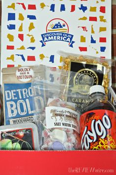 Come Discover Our America Monthly Subscription Box: #Michigan #subscriptionservice @discouramerica