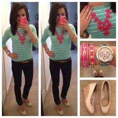 Loving this combo Business Casual Outfits, Professional Outfits, Dressy Outfits, Simple Outfits, Cute Outfits, Office Outfits, Office Wear, Work Outfits, Spring Style