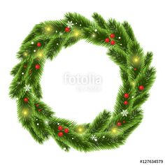 Christmas tree beautiful wreath vector  christmas, tree, border, frame, background, vector, pine, fir, illustration, branch, white, xmas, green, nature, decoration, new, winter, decorative, year, celebration, decor, season, holiday, wreath, natural, greeting, bright, merry, seasonal, december, twig, realistic, card, festive, holidays, ornate, cover, copyspace, firtree, poster, detailed, isolated, garland, round, circle, traditional, light, snow, flake, berry
