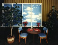 Bruce Wrighton, Clouds Restaurant, Broom County Airport, 1985