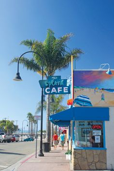 Grub spot! Splash Cafe, Pismo Beach for the best clam chowder on the West Coast!