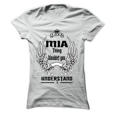 Is MIA Thing - 999 Cool Name Shirt !