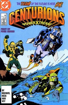 Centurions Power Extreme DC Comics