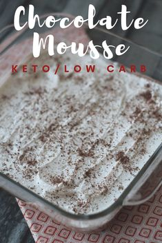 """Jump to Recipe Print Recipe TweetEmail TweetEmail Share the post """"Chocolate Mousse {Keto / Low Carb}"""" FacebookPinterestTwitterEmail One of my favorite desserts my grandmother used to make reminds me of this Keto/Low Carb Chocolate mousse. I love how recipes can evoke memories that are so special. My grandmother always let me get right in thecontinue reading..."""