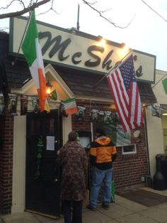 McShea's in Narberth, PA.  Great Irish pub with an amazing beer selection.  You can earn a personalized mug if you drink 50 different beers..... just don't try to do it all in one night.