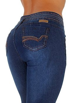 Style K117– Colombian Design, Butt Lift, Levanta Cola, Skinny Jeans