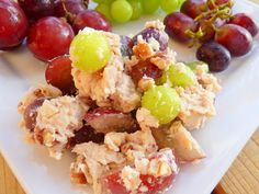 Triple Grape Chicken Salad