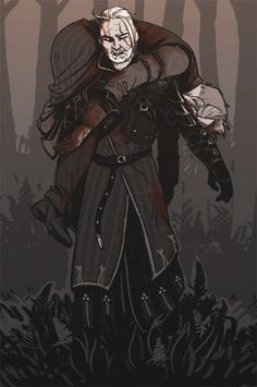 I'm a 31 year-old nerd from Finland. I draw mostly Witcher fanarts, which are sometimes NSFW! Please do not use my pictures without my permission. Yennefer Witcher, Witcher Art, Geralt Of Rivia, The Witcher Game, The Witcher Books, Fantasy Character Design, Character Inspiration, Fallout Fan Art, Fantasy Couples