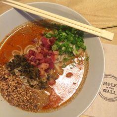 Bacon Dan Dan Mian from Kwong's Provision!