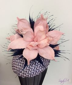 Lilac Intuition by Milliner Sandy Aslett
