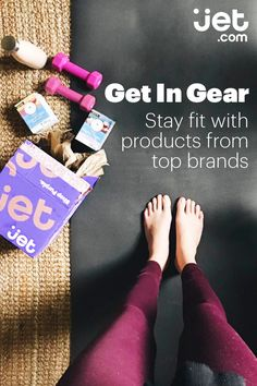 Channel your inner yogi for less at Jet.com. We've got you covered from yoga mats equipment for your at-home practice to exercise equipment and more for additional strength training. Shop Jet for all your sporting goods needs, because once you experience prices that drop as you shop, free shipping over $35, and 24/7 customer service, you'll feel like jumping up and down on a trampoline.