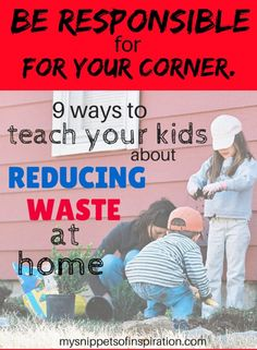 These personal tips are great for #kids to learn while also #savingmoney & #greenliving awareness!