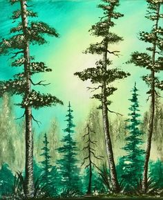 Learn to paint Forest Foliage