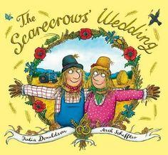 (Own) The Scarecrows' Wedding by Julia Donaldson and Alex Scheffler ( includes cigar smoking).