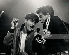 Jonathan and Jordan Knight credit their church choirmaster with cuitivating their love of music that led them to become heroes of the hearts as members of New Kids On The Block; who played Toronto in March 1990.