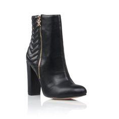 Kayiah bootie in black.