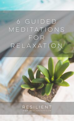 Guided meditations are a really powerful way to relax and de-stress from your day.  Unlike regular meditation, a guided meditation is when you have someone's voice and some background music guiding you through what to visualize and think about during your meditation.  This is a helpful way to begin a meditation practice if you don't know how to meditate or can't clear your mind.  Here are 6 guided meditations for relaxation.