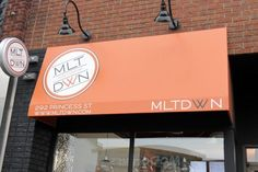 MLT DWN serves up amazing and unique gourmet grilled cheese, waffle fries and desserts. Food Network Canada, Food Network Recipes, Restaurants, Bucket, Eat, Summer, Summer Time, Summer Recipes, Buckets