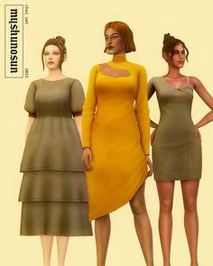 Pelo Sims, Sims 4 Teen, Sims 4 Dresses, Sims 4 Mm Cc, Sims 4 Cas, Sims 4 Cc Finds, Sims 4 Clothing, Sims Mods, The Sims4