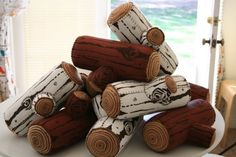 MakeYour Own Log Kit by myimaginaryboyfriend on Etsy, $27.00