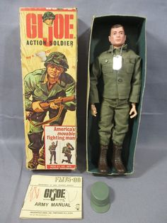 Collectors & Hobbyists Hasbro GI Joe Military & Adventure Action Figures for sale 1960s Toys, Retro Toys, Vintage Toys, Gi Joe, Childhood Toys, Childhood Memories, 80s Ads, Military Action Figures, The Old Days