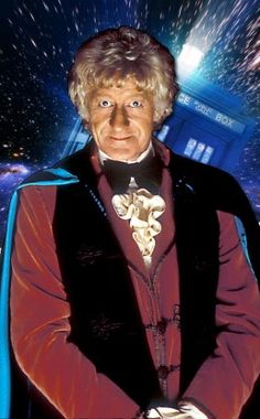 Jon Pertwee A dandy and a man-of-action Jon Pertwee's Third Doctor spent much of his time exiled on planet Earth. The good news: This allowed him to cruise around the U. in a vintage roadster named ''Bessie. Jon Pertwee, Classic Doctor Who, William Hartnell, Second Doctor, Twelfth Doctor, Dalek, Torchwood, Time Lords, David Tennant
