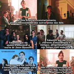 Coitado do meu Archiezinho.😖😭 Riverdale Memes, Riverdale Cast, Pretty Little Liars, Himym, Top Memes, High School Musical, Series Movies, Creepypasta, Ouat