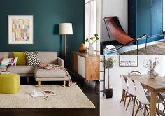 | Inspiration couleur | Du bleu canard