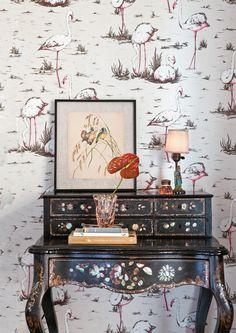 Papier peint Flamingos de Cole and Son