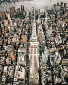 New York City Skyline in Stunning Aerial Photos by George McKenzie Jr #inspiration #photography