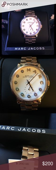 Brand new with tags Marc Jacobs watch Brand new with tags Marc Jacobs watch Marc Jacobs Accessories Watches