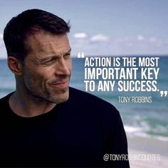 Aint this the truth. Action is the PRECURSOR to success Repost from using - Work Motivation, Quotes Motivation, Tony Robbins Quotes, Motivational Quotes, Inspirational Quotes, Leadership Coaching, Entrepreneur Quotes, Business Entrepreneur, Business Quotes